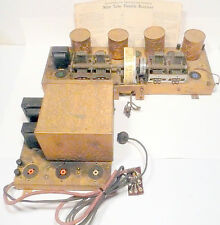 vintage* SOBER BUILT 9 TUBE RADIO part:  Untested CHASSIS & POWER SUPPLY