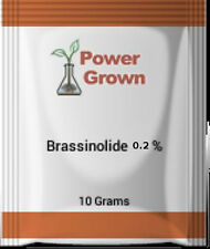 Brassinolide 0.2% 10g  International PGR With Instructions, Spoon & Rebate