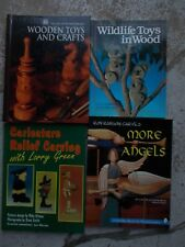 Lot of 4 Woodworking Books ~ Patterns ~ Projects