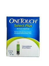 ONE TOUCH SELECT  25 STRISCE PER TEST GLICEMIA svad. 01/2021