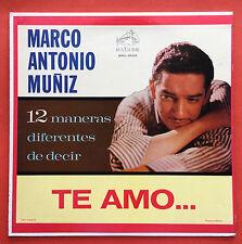 Marco Antonio Muniz 12 Maneras Diferentes De Decir Te Amo RCA VICTOR