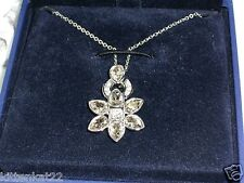 NIB $270 Swarovski Swan Signed Hedge Necklace and matching bracelet set