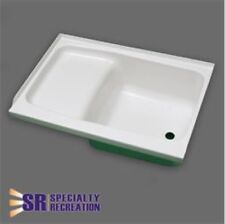 "Specialty Recreation ST2436WR RV Step Tub 24"" x 36"" Right Hand Drain White ABS"