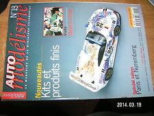 Auto Modelisme n°13 Ford WRC Subaru WRC Salons Made in China...
