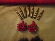 RAZOR BLADES 2x RED COMBINATION TRIGGER LOCKS RIFLE SHOTGUN HUNTING SHOOTING GUN