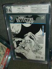 Detective Comics #0 1:25 Sketch Variant SIGNED PGX SS Tony Daniel 9.6 CGC batman