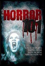 HORROR 101 (DVD,2009,4-DISC SET) NEW SEALED