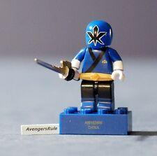 Power Rangers Mega Bloks Series 3 Metallic Samurai Blue Ranger Common