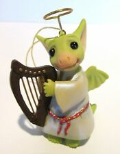 "Pocket Dragon ""Plink"" Angel Ornament by Real Musgrave, Brand New, Original Box"