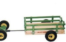 Amish Tricycle Trailer Cart Wood Steel Made in Usa Quality for Toys Work Play