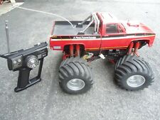 Vintage Original Tamiya ClodBuster 1/10 4wd RC Monster Truck Chevy as-is car