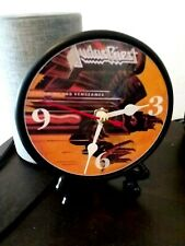 Judas Priest - Screaming For Vengeance - 5 Inch Desktop Clock- Gift Box & Stand
