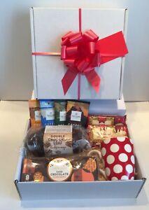 Luxury Afternoon Tea Gift Box Hamper Gift Idea Birthday Thank You Anniversary