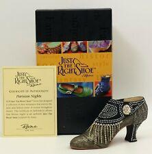 Just The Right Shoe by Raine Parisian Nights Item # 25127 Nib