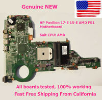 Genuine NEW HP Pavilion 17-E 15-E AMD FS1 Motherboard 720691-501 DA0R75MB6C1 USA