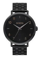 Nixon Arrow A1090-001-00 Black / Black Stainless Steel Analog Quartz Women's Wa