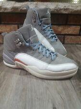 Nike Air Jordan Retro 12 XII Cool Grey White Team Orange Size 12 130690-012