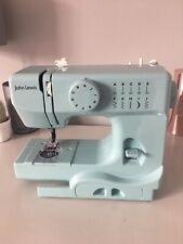 John Lewis Mini máquina de coser, Azul Huevo De Pato, En Caja Original