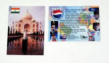 2000 Dart Flipcards Pepsi Around the Globe Promo Card (P1) Taj Mahal Nm/Mt