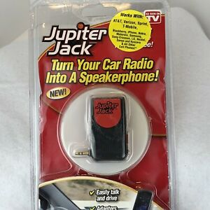 Jupiter Jack (As Seen On TV) Turn Any Car Radio Into A Speakerphone Hands Free