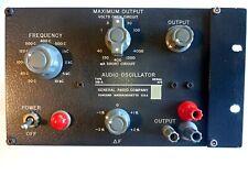 General Radio Company 1311-A Audio Oscillator Vintage Test Equipment GenRad