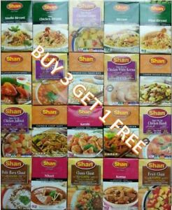 SHAN MASALA Recipe Biryani BBQ Kebab Curry Spice Mix Herb 74 VARIETY Ramadan Eid