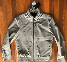 BELSTAFF DRIFT JACKET GREY MENS SIZE MEDIUM MADE IN PORTUGAL NEW WITH TAGS