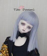 Bjd Doll parrucca 1/3 8-9 Dal Pullip AOD DZ DD SD DOD LUTS Dollfie blue Toy Hair