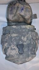 Army surplus MOLLE II digital camo canteen/general purpose pouch good condition