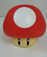 Super Mario Bros Red White Mushroom Money Piggy Bank Collectible Kids Nintendo
