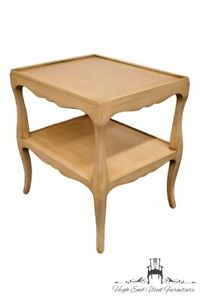 """1960's French Provincial Shabby Chic Contempoaray Modern 21x26"""" Accent End Table"""