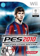 Pro Evolution Soccer 2010 WII New Nintendo Wii