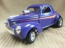 ROAD LEGENDS CHRYSLER 1941 WILLYS NO 92278 PURPLE DIE CAST 1:18 Free Shipping!!