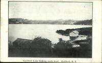 Guilford NY Lake Looking SW c1905 Postcard