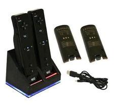 Chargeurs et stations d'accueil pour console de jeux vidéo Nintendo Wii