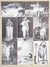 Serie 8 Cartoline - Erotiche Erotics Nudi Naked - Non Viaggiate - ST253 - RIPROD
