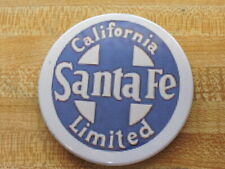 "Ten Eachcoasters 3.5"" wide Santa Fe California Limited Logo Made in Usa"