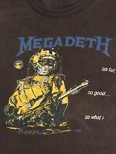 Megadeth Vtg Tour Shirt Metallica Slayer Death Morbid Angel Exodus Testament SOD