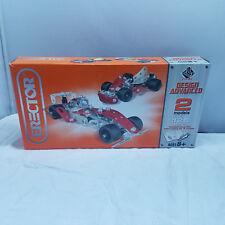 Erector DESIGN ADVANCE Set Formula 1 Car-Makes 2 Models- Uncounted - As Is