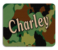 Camouflage Mouse Pad Personalize Men Ladies Hunting Camo