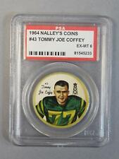 1964 Nalley's Coins #43 Tommy-Joe Coffey Eskimos PSA 6 EX-MT