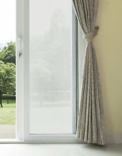 FROSTED WINDOW PRIVACY FILM Static Cling Decals Patio Glass Door Screen Windows
