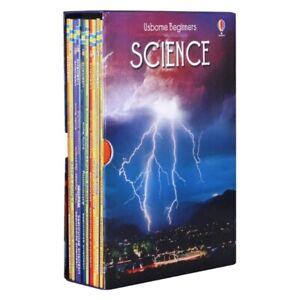 Usborne Beginners Science 10 Books Box Set Collection Set Sun, Moon and Stars,