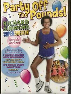 Party Off the Pounds ! Richard Simmons - DVD -  Very Good - - - 1 -  -  -  Disc