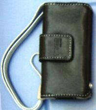 $25 BELKIN Leather Folio Case~1G & 2G Apple IPOD Nano 1st & 2nd Gen ~ Jet  BLACK