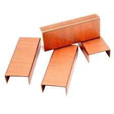 5 boxes rose gold staples 12 universal staples office supplies copper stationery
