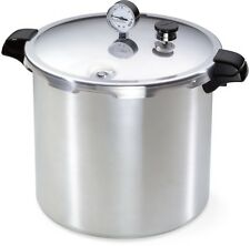 Pressure Canner Cooker 23-Quart Large Kitchen Pot Pan Rack Lid Gauge Steamer