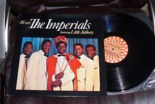 We Are THE IMPERIALS featuring LITTLE ANTHONY Roulette NM Tears on My Pillow