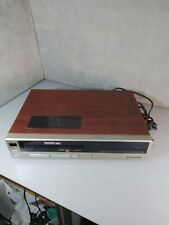 New listing Vintage Panasonic Video Cassette Recorder Pv-1334R Tested for Repair/Parts only