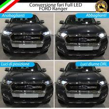 CONVERSIONE FARI FULL LED FORD RANGER 6000K XENON LED CANBUS H11 + H15 + T10